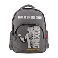 """Рюкзак с эргономичной спинкой """"Бокс"""", цвет серый"""