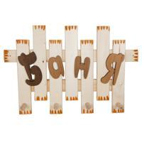 """Вешалка """"Баня"""", 4-х рожковая, 45x38 см, липа"""