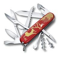 """Нож перочинный """". Год быка 2021"""", 91 мм, 16 функций, красный"""