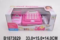 """Игровой набор """"Касса-калькулятор. Моя розовая касса"""", с аксессуарами, 26х17,5х11,5 см"""