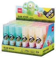 """Клей-карандаш """"Deli. Stick UP"""", цвет: в ассортименте, 21 мл, 1 штука, арт. EA20900"""
