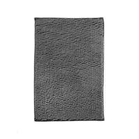 "Коврик для ванной ""Chenille"", 40х60 см, серый"
