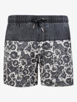 """Пляжные шорты Великоросс """"Темно-серая хохлома"""", размер 4XL (58)"""