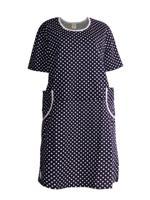 Платье женское (цвет: темно-синий, размер: 62)