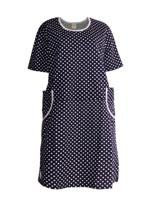 Платье женское (цвет: темно-синий, размер: 58)