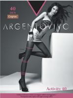 """Колготки женские Argentovivo """"Activity 40"""", 40 den, цвет: cognac, размер 4"""