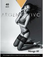 """Чулки Argentovivo """"Mirage 40 Aut"""", 40 den, цвет: caramello, размер 3"""
