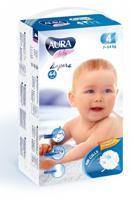 """Подгузники одноразовые для детей """"Aura. Baby"""", 4/L 7-14 кг, 44 штуки"""