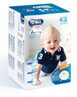 """Подгузники одноразовые для детей """"Aura. Baby"""", 5/XL 11-25 кг, 12 штуки"""