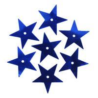 """Пайетки """"Звездочки"""", 20 мм (цвет №5, темно-синий), 10 грамм"""