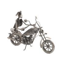 """Подставка для бутылки """"Мотоциклист"""", 31х15х23 см"""