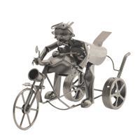 """Подставка для бутылки """"Мотоциклист"""", 41х14,5х23 см"""