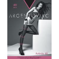 "Колготки женские Argentovivo ""Activity 40"", 40 den, цвет: nero, размер 3"
