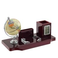 Настольный набор (глобус, часы, карандашница, визитница)