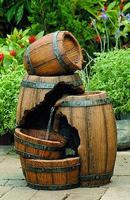 """Фонтан садовый """"Green Apple. Бочка"""", 55 см"""
