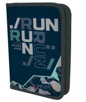 """Пенал-книжка с одним отделением """"Seventeen Run Run"""", 21х14х4 см"""