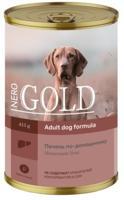 """Консервы для собак Nero Gold """"Печень по-домашнему"""", 415 г"""