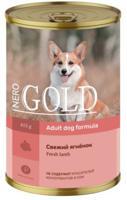 """Консервы для собак Nero Gold """"Свежий ягненок"""", 415 г"""