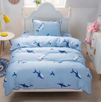 """Комплект постельного белья """"Брюс"""", детский, цвет: голубой"""