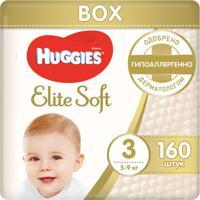 Подгузники Huggies Elite Soft (3), 5-9 кг, 160 штук
