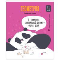 """Тетрадь """"Clever Panda. Геометрия"""", А5, 48 листов, клетка"""