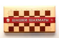 "Игра настольная ""Шашки-Шахматы"""