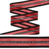"""Резинка декоративная """"TBY"""", 4 см, 25 м, цвет: красный, арт. ET20.074001"""