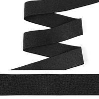 """Резинка декоративная """"TBY"""", 4 см, 25 м, цвет: черный, арт. ET20.094001"""