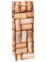 """Пакет подарочный """"Пробки от вина"""", 12x36x8,5 см"""