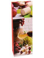 """Пакет подарочный """"Пьянящая лоза"""", 12x36x8,5 см"""