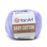 """Пряжа YarnArt """"Baby Cotton"""", 50 грамм, 165 м, цвет: 417 голубой, 10 мотков (количество товаров в комплекте: 10)"""