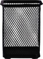 """Подставка для пишущих принадлежностей """"Deli"""", цвет: черный, сетка, арт. E9174"""