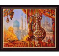 """Рисунок на ткани для вышивания бисером """"Кальян"""", 29х39 см, арт. 9912"""