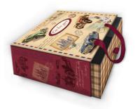"Коробка подарочная ""Ретро-машины - L"", арт. 44284"
