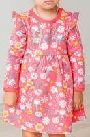 """Платье для девочки """"Batik"""", цвет: разноцветный, рост 74 см, арт. 02073_BAT"""