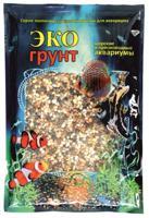 """Грунт для аквариума ЭКОгрунт """"Галька феодосия мини"""", 1-3 мм, 3,5 кг"""