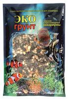 "Грунт для аквариума ЭКОгрунт ""Галька феодосия №1"", 5-10 мм, 3,5 кг"