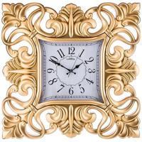 """Часы настенные кварцевые """"Galaxy"""", цвет: золото, 60,5x60,5 см"""