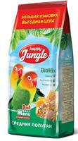 """Корм для средних попугаев """"Happy Jungle"""", 900 г"""