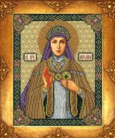 """Набор для вышивания бисером """"Святая Ангелина"""", 18х22,5 см, арт. 362 БИ"""
