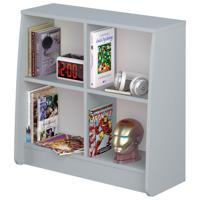 """Стеллаж для кровати-чердака Polini kids Marvel 4105 """"Железный человек"""", цвет: серый"""