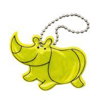 """Набор светоотражающих подвесок """"Пешеход №15. Носорог"""", 12 штук"""