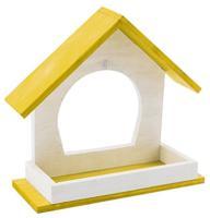 """Кормушка уличная Дарэлл """"Конфетти"""" (цвет: желтый), 21,5x8x19,5 см"""