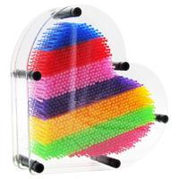 """Экспресс-скульптор Pinart """"Сердце радуга"""", 21 см, цвет: разноцветный"""