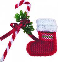 """Набор для бисероплетения Чарівна Мить """"Merry Christmas"""", 4х12 см, арт. БП-40"""