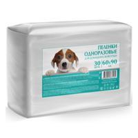 """Пеленки одноразовые впитывающие для домашних животных """"Tereza"""", 60x90 см, 30 штук"""