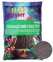 """Наполнитель VladOx """"Голландский субстрат"""", для аквариумов с живыми растениями, 3,5 кг"""