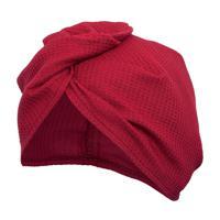 Вафельная чалма Банные штучки, цвет: красный