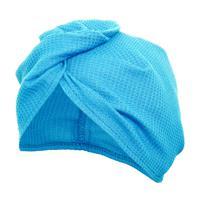 Вафельная чалма Банные штучки, цвет: голубой