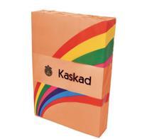 "Бумага цветная ""Kaskad"", А4, 160 г/м2, цвет: оранжевый (59), 250 листов"
